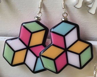 cool geometric earrings