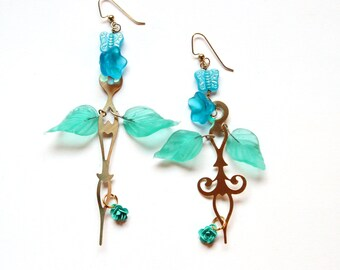 Clock Hand Earrings