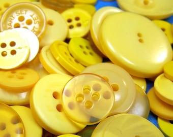 50 Yellow Buttons