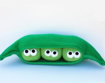 Three Peas In A Pod - Plush Food