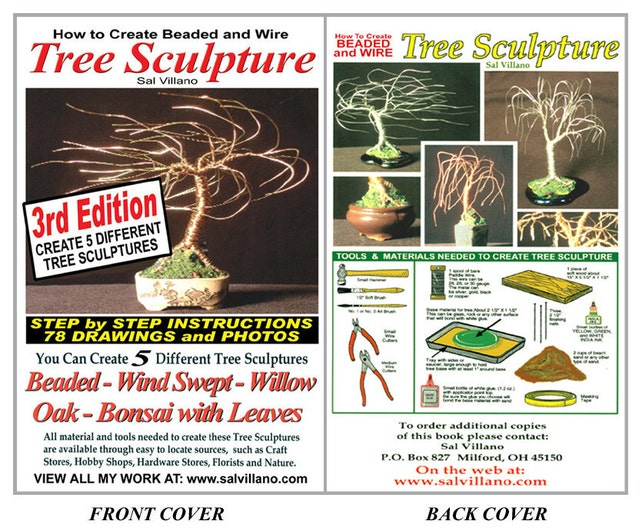How To Create Beaded And Wire Trees Download Book Etsy
