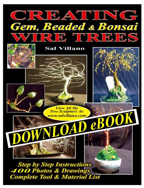 Creating Gem Beaded Bonsai Wire Trees Ebook Etsy