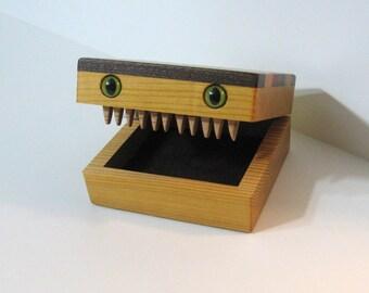 Creature Treasure Box Made Of Seven Woods