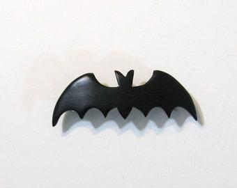 Bat Wooden Hair Clip Made From Ebony wood