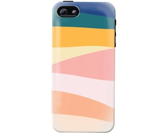 Modern Landscape Phone Case (fits all types of phones) - Tough case with rubber bumper and liner