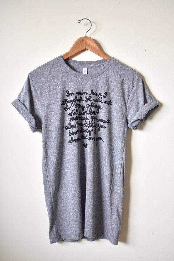 001feb5bd Mr. Darcy Proposal Shirt In vain have I struggled | Etsy