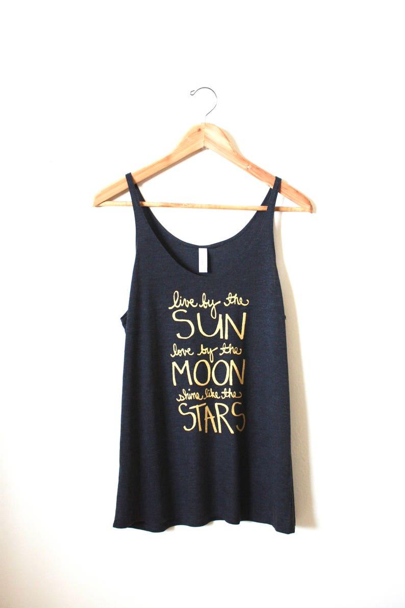0e85ed039b Live by the Sun Love by the Moon Shine Like the Stars. Yoga | Etsy