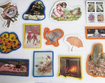 Seasons Of The Year Felt Board Set, Home School, Preschool, Science Felt Board Set