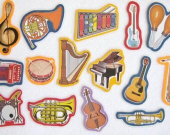 Musical Instruments Felt Board Flannel Board Set