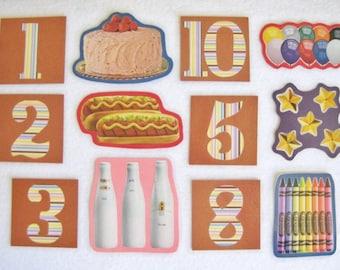 Felt Board Number Matching Set, Flannel Board Numbers, Homeschool Preschool, Counting Numbers, Teachers Resource