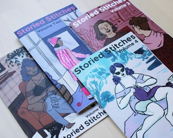 Storied Stitches One Year Subscription