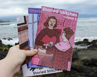 Storied Stitches (Volumes One Two & Three)