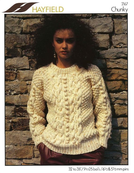 Vintage Damen Pullover stricken Muster 1960 PDF Muster | Etsy