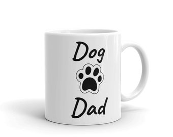 Dog Dad Pet Lovers Mug