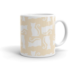 Cat Pattern No. 2 Mug