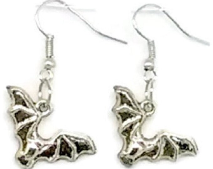 Featured listing image: Bat Charm Earrings