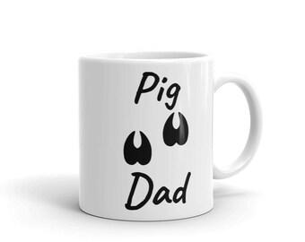 Pig Dad Pet Lovers Mug