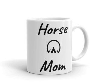 Horse Mom Pet Lovers Mug