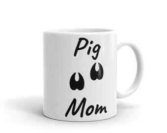 Pig Mom Pet Lovers Mug