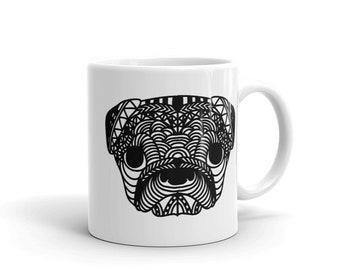 Zentangle Dog Pet Lovers Mug