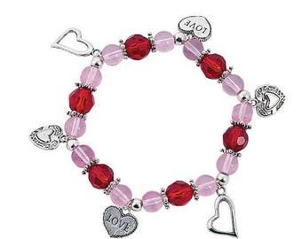 Valentine Charm Bracelet