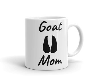 Goat Mom Pet Lovers Mug