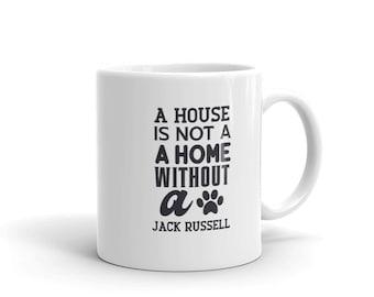 Jack Russell Terrier Home Pet Lovers Mug