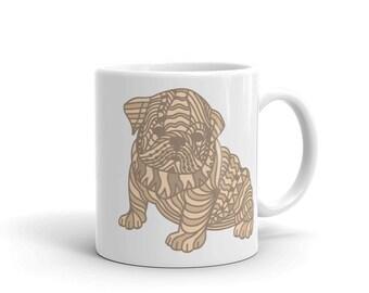 Zentangle Puppy Pet Lovers Mug
