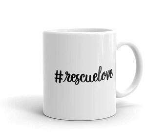 rescuelove Pet Lovers Mug