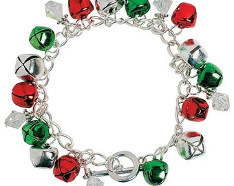 Christmas Jingle Bell Bracelet