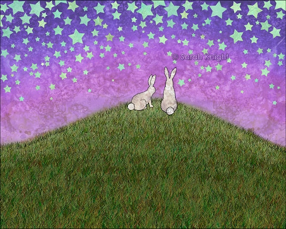 Image result for bunnies of a hill