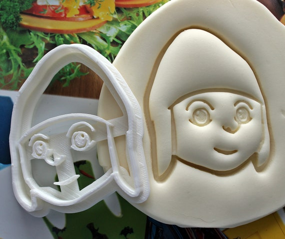 Despicable Me Gru Cookie Cutter  Made From Biodegradable Material  Brand New  Party Favor  Kids Birthday  Baby Shower  Cake Topper