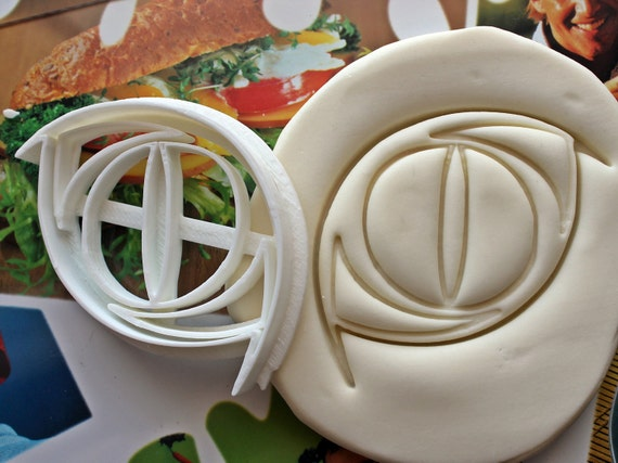 Catwoman Logo Symbol Cookie Cutter Made From Biodegradable