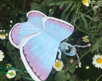 Hanging 3D Butterfly Greetings Card or Mobile