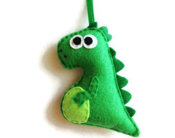 Dinosaur Ornament, Christmas Ornament, Desmond the Dinosaur