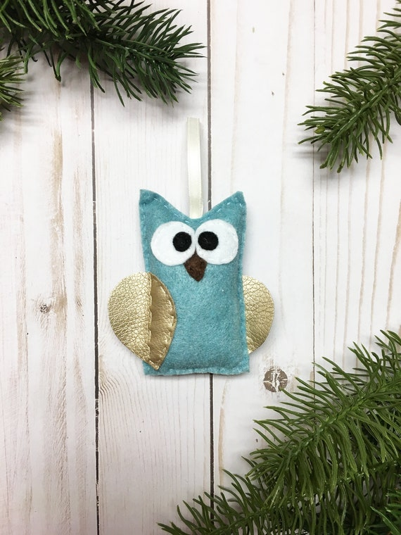 Owl Ornament, Christmas Ornament, Dwayne the Owl