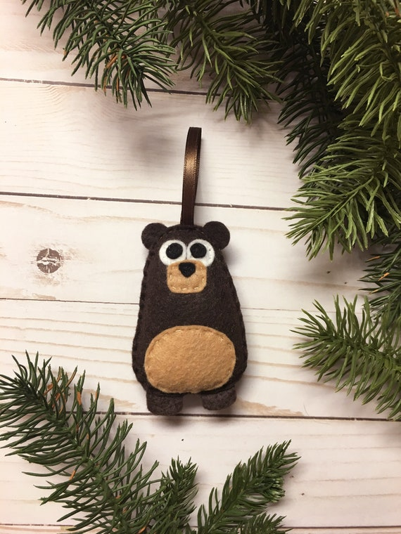Bear Ornament, Christmas Ornament, Benny the Bear