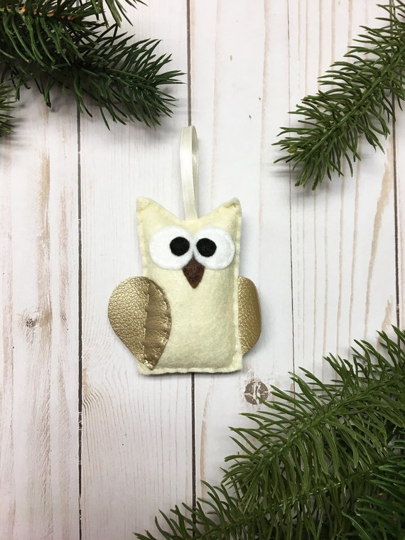 Owl Ornament, Christmas Ornament, Ornament, Julia the Owl