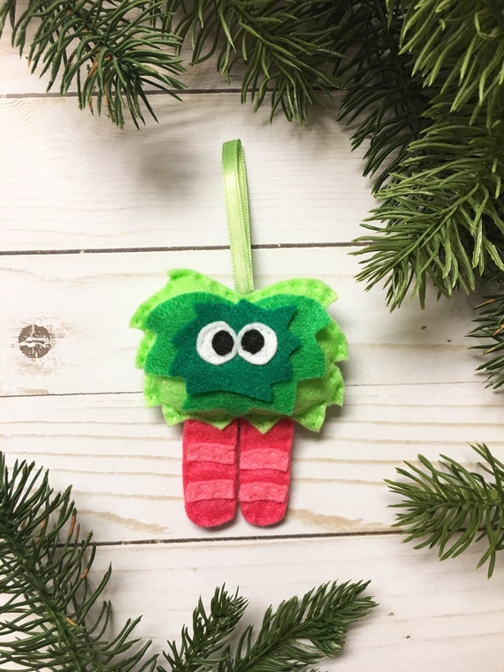 Monster Ornament, Christmas Ornament, Mumsy the Mumsy Monster