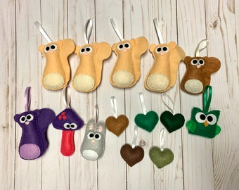 Woodland Ornament Lot - Closeout Pricing