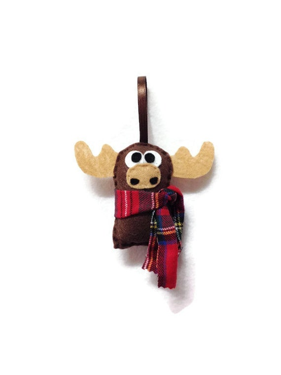 Moose Ornament, Christmas Ornament, Ned the Moose