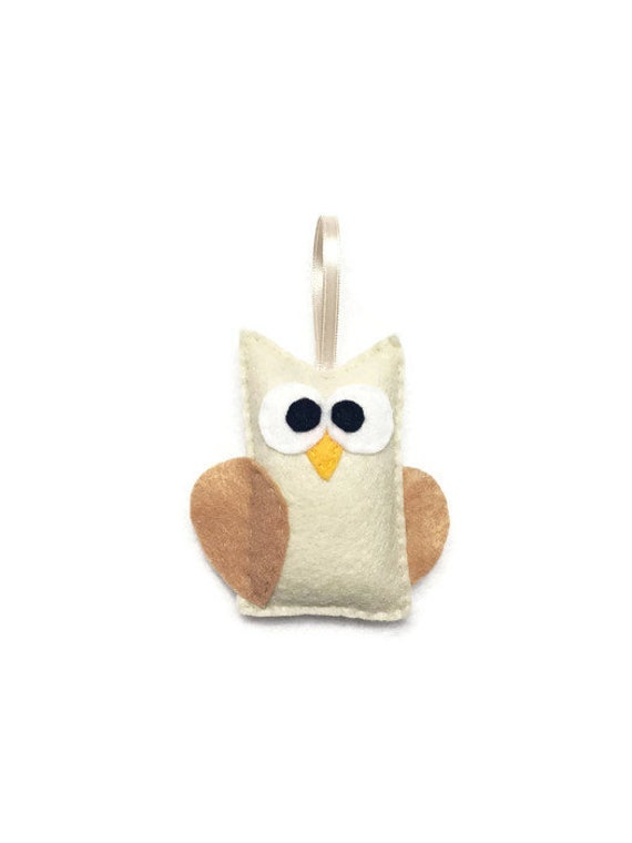 Owl Ornament, Christmas Ornament, Ornament, Julia the Owl, Fall Decoration, Woodland Animal, Farmhouse, Gifts under 10