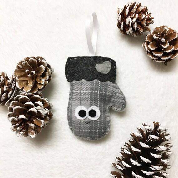 Mitten Ornament, Christmas Ornament, Martha the Mitten - Keepsake Kids Decor