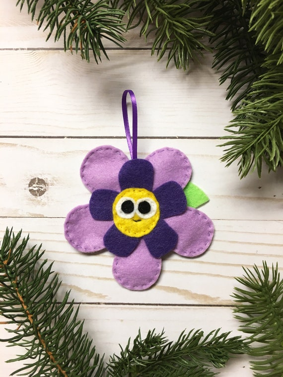 Flower Ornament, Christmas Ornament, Bloom the Flower