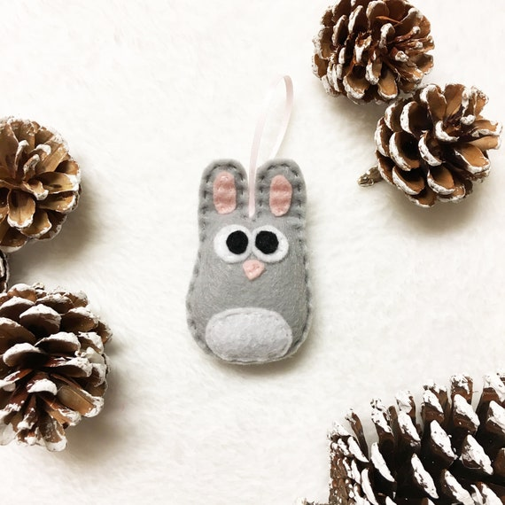 Rabbit Ornament, Baby Bunny, Rick the Baby Bunny