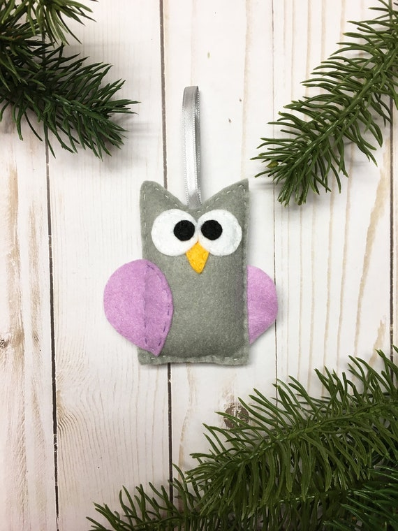 Owl Ornament, Christmas Ornament, Myrtle the Owl