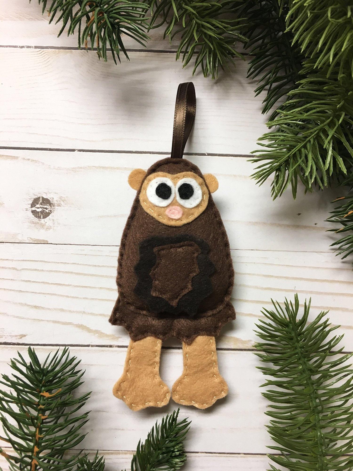 sasquatch bigfoot ornament christmas ornament harold the sasquatch - Bigfoot Christmas Ornament