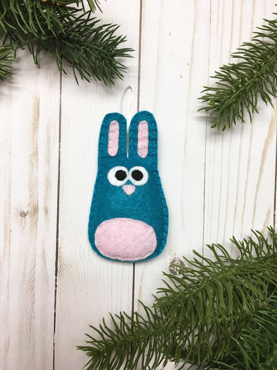 Rabbit Ornament, Bunny Ornament, Christmas, Sprinkle the Bunny