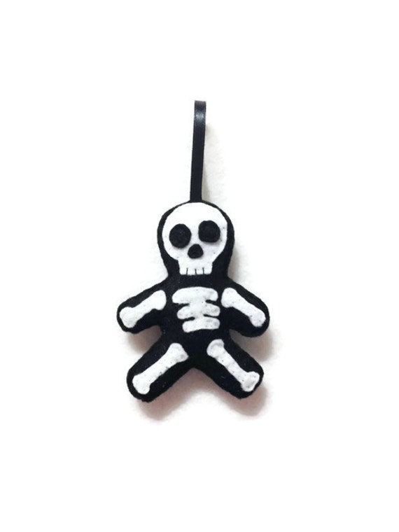 Skeleton Ornament, Halloween Ornament, Christmas Ornament, Sam the Skeleton, Day of the Dead, Gift for Doctor