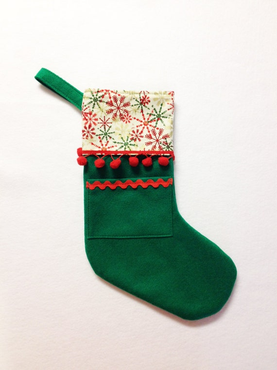 Holiday Stocking - Pocket Peeper Pick Your Own - Home for the Holidays